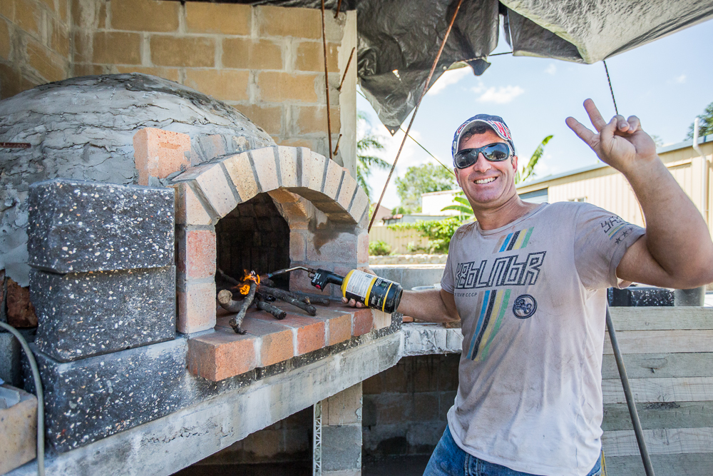 Brisbane Woofired Pizza Oven By Papa Gomez